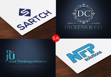 Create Creative logo for you