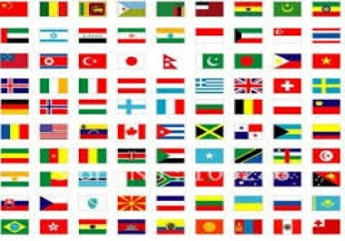Give You HQ 10,000+ Any country Visitors Safely.