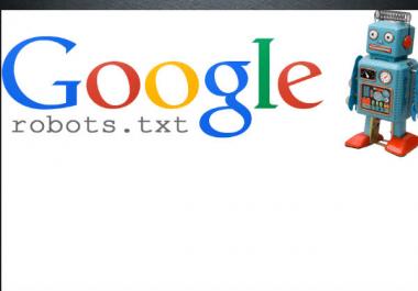 Create Xml Or Html Site Map , Robot Txt File Create