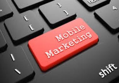 scrape you a list of 1000 fresh USA mobile smartphone numbers
