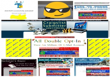 blast your ad to over 103 MILLION double opt-in leads