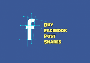 Buy 25 Real USA Active Facebook Shares