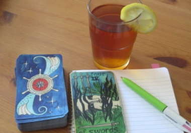 give you a 5 card tarot card for 2 days