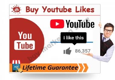 Lifetime Guarantee 20+ Manual youtube custom comments OR 20+ youtube video like