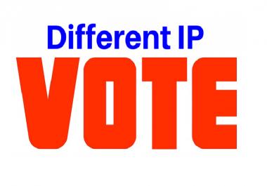 Get 50 Unique IP votes