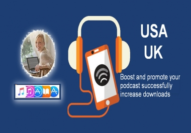 do promotion your podcast successfully with increase listen, downloads