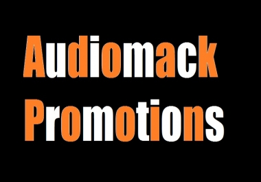 get you 1,000 audiomack play + 100 like