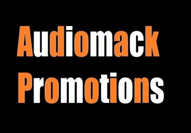 get you 5,000 audiomack plays