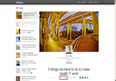 deliver 45000 Real LinkedIN Article Views