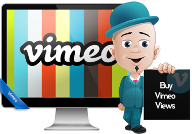add 1000 Real Vimeo Plays