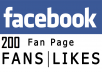 deliver 200 Facebook Fanpage Likes