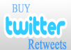 I will Add 500+ TWITTER Retweets unique profiles without admin access within 24 hours