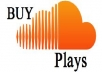 Give you 20000 plus soundcloud plays on unlimited tracks
