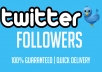 deliver 2000 Twitter Followers