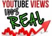 do 3000 Youtube views 1000% safe