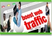 drive UNLIMITED unique traffic daily real visitors for 30 days