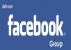 promote anything you want on my Facebook group