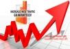 deliver 150 000 wolrdwide traffic