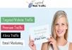 deliver 120 000 wolrdwide traffic
