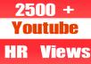 Give You 2601+ NON Drop + Splitable Youtube Views
