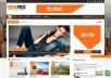creat for yu a good seo blogger blog with any template