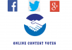 manage 50 real votes on your online voting contes
