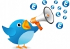 Give you 50 Real USA user twitter comments to your tweet