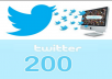 add 200 real Twitter Followers