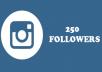 add 250 real Instagram Followers