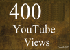 provide 400+ Real YouTube Views