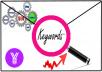 do positive Keyword research to make SEO easy