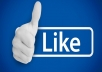 Gives you 350+Instantly started Guaranteed Facebook likes