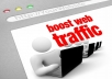 Send 10,000 Real Website Traffic