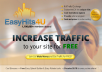 Send 2000 Easyhits4u Traffic