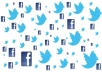 tweet and re-tweet your link/ad to my 14K HIGHLY ACTIVE Twitter followers AND post to my FB profile with over 2500 active friends