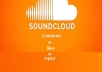 Manually high quality 50 real USA soundcloud comments or repost or likes
