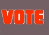 give you 50 genuine votes to any website