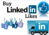 BEST QUALITY 20+ USA BASIC LINKEDIN FOLLOWERS OR LIKES OR JOI2