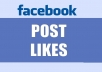 Manually give you 100 USA Facebook Fan page's Post status videos Likes