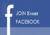 I will supply you 50 USA best quality facebook event join