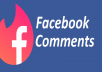 Manually post 50 USA Facebook Comments real relevant high quality to your fanpage photo, Post, status or video