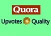 get you 30 USA Profile Quora Upvotes Or Followers