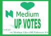 Promote your medium post or profile via USA all user votes