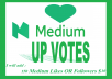 Promote your medium post or profile via USA all user votes