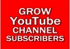 Add 10+ Subscribers on your YouTube channel to increase SEO