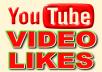 Add 50+ Real Genuine Human YouTube Video Likes