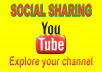Do 200+ Social Sharing SEO For YouTube video