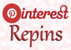 Add 200+ Pinterest Repins to boost your credibility and SE0