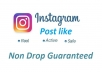 Provide 2500 USA Instagram post likes