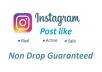 Provide 2500 USA Instagram post likes